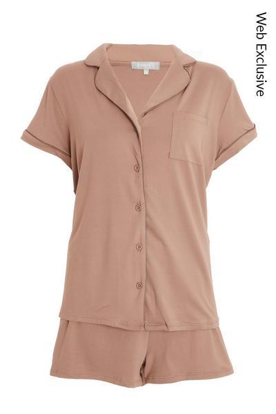 Pink Short Pyjama Set